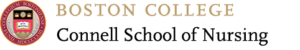 Boston College Connell School of Nursing Logo